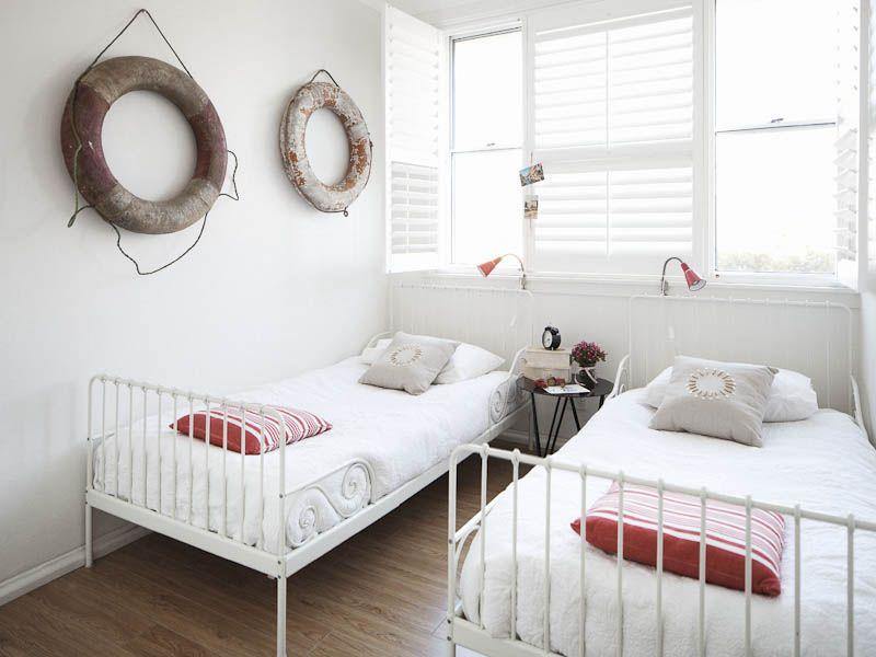 perfect beach guest room - desiretoinspire.net - Blue Belle atBondi