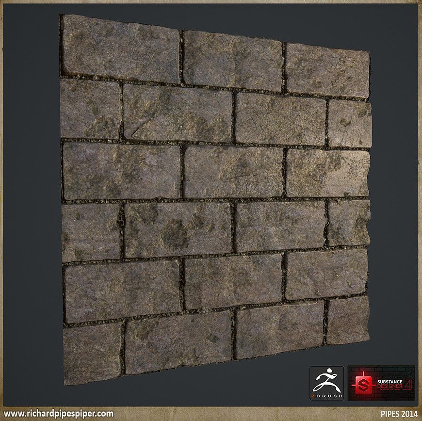 Wall texture examples unique artstation tiling textures and substance designer examples