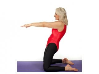 five quick antiageing yoga moves  exercise yoga fitness