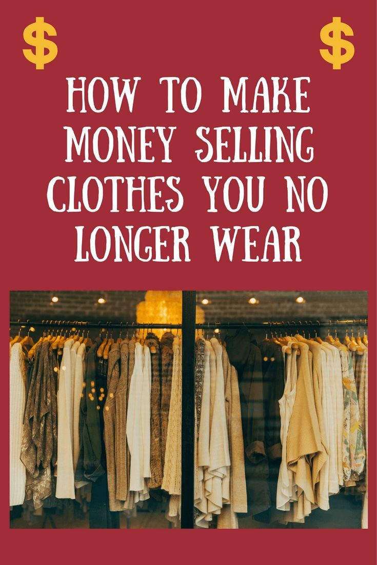 09ad5f219 Easy way to make money by selling clothes that you no longer love!