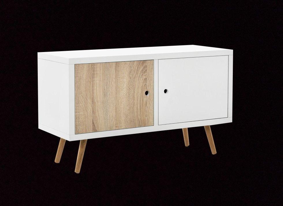 Badezimmerschrank Braun ~ Retro sideboard in kupfer braun modern sideboard wohnzimmerschrank