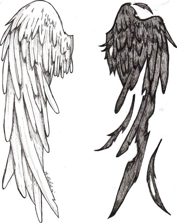 Tattoo Design By Azz And Spaz On Deviantart Aile D Ange