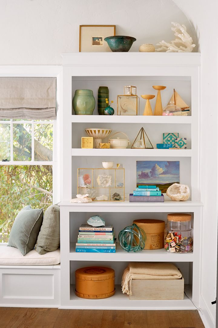 How to Style Your Bookcase if You're A Collector