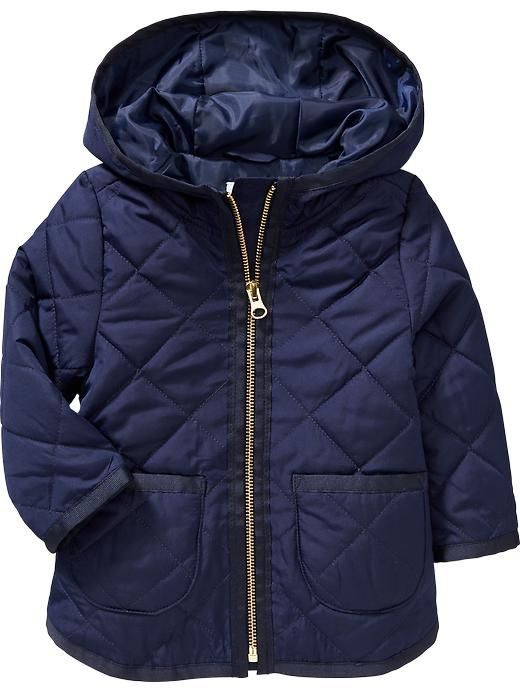 Uniform Quilted Hooded Jackets For Baby Old Navy Old Navy Sueter Ninos