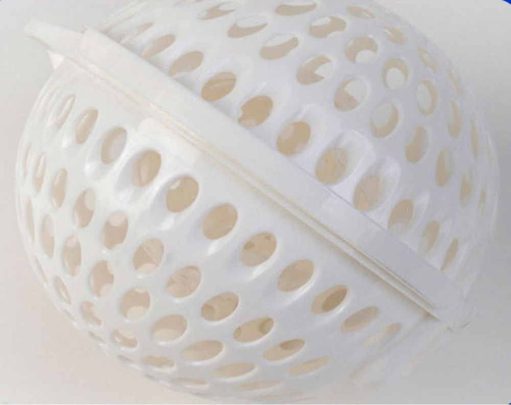 White Laundry Bra Washing Ball For Upto Sizes DDD & E Cups #ebay #trinital #WashingBall