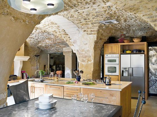 Modern kitchens in old houses