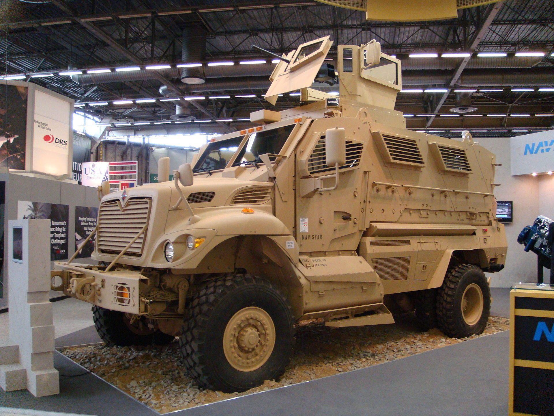 لماذا انتشرت العربات المقاومة للألغام MRAP في الشرق الأوسط؟  98cd2c3d30e423ede5c8ae7a7f5e0c01