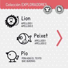 Colección EXPLORADORES | miomiomio