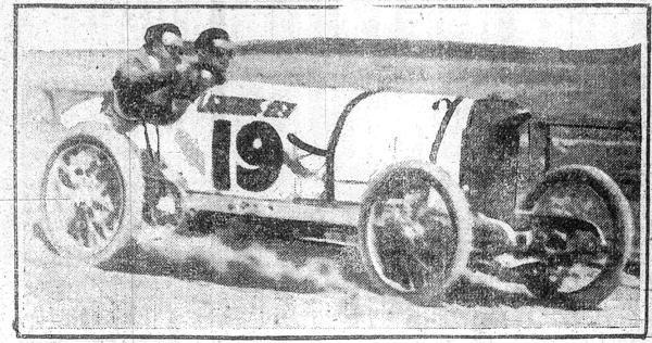 Oldfield's Lightning Benz | First Super Speedway