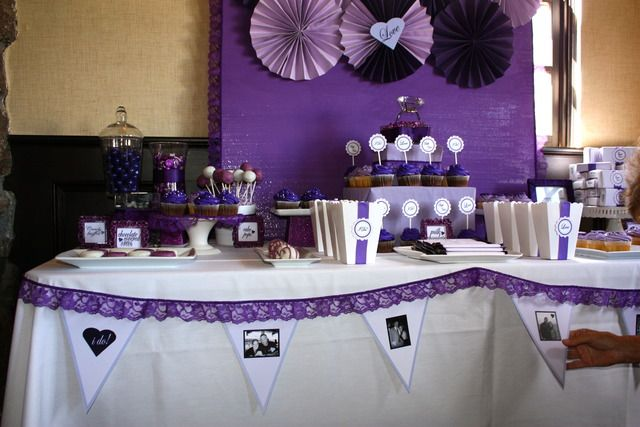 Bridal Party Decorations