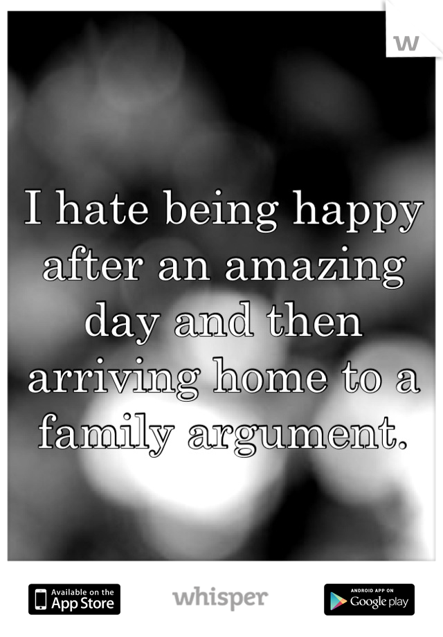 My family hates me quotes