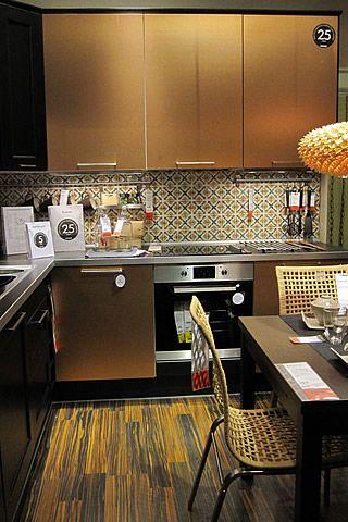 CUCINE in MURATURA di Caltagirone - Ambientazione cucina IKEA - CEAR ...