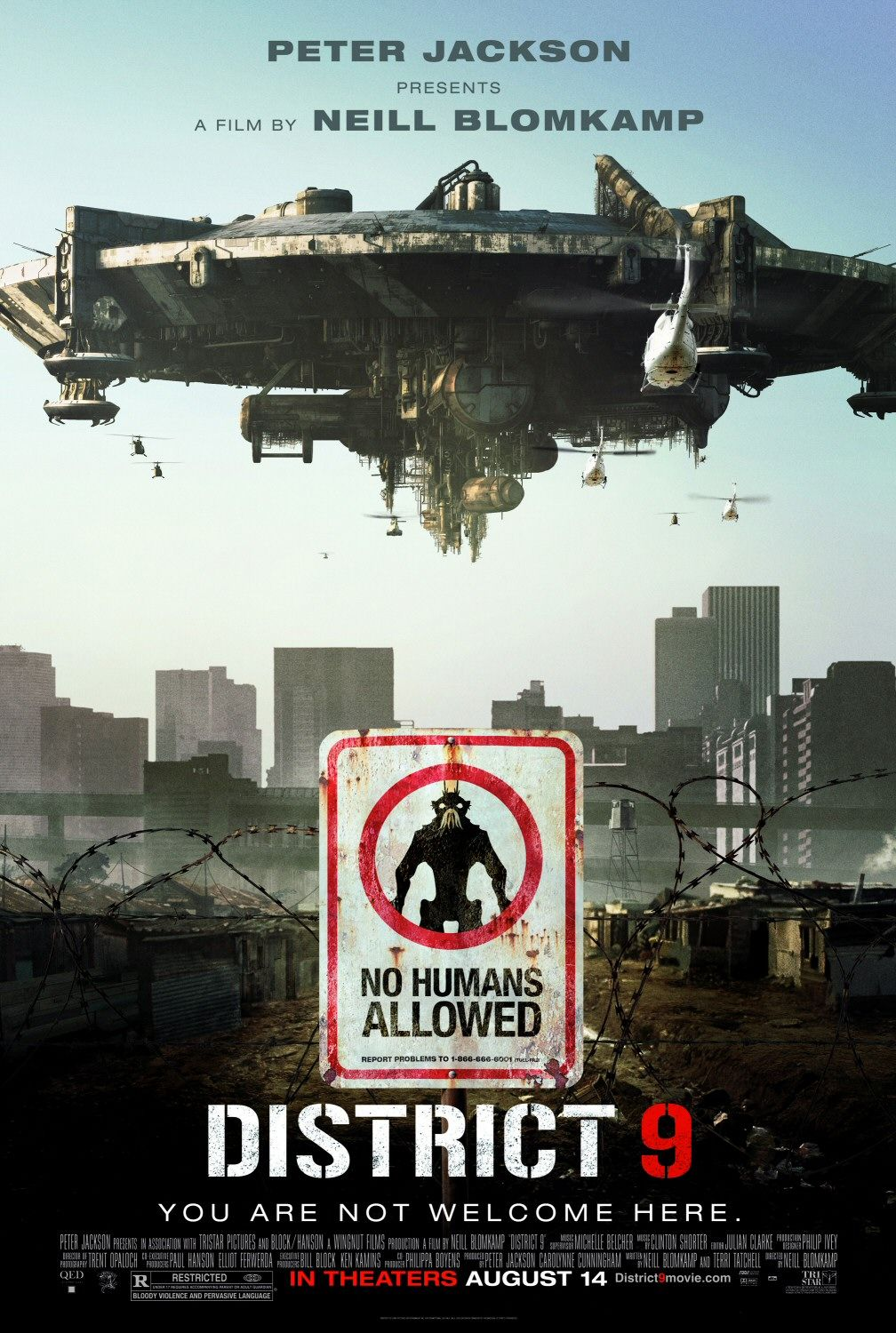 Neill Blomkamp S District 9 2009 With Images Science Fiction