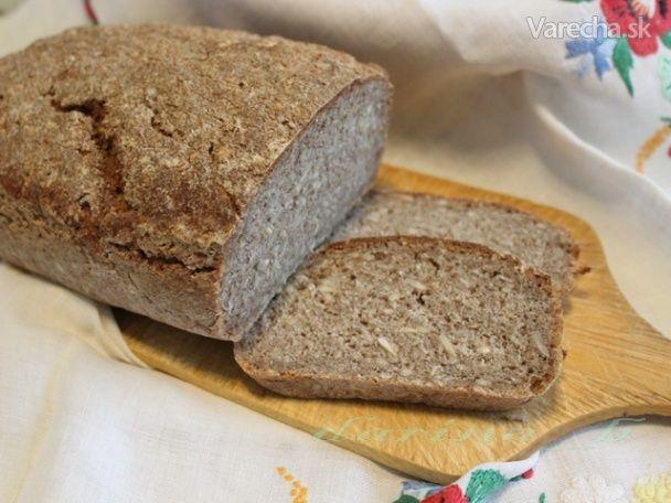 Ražný kváskový chlebík (fotorecept) - Recept