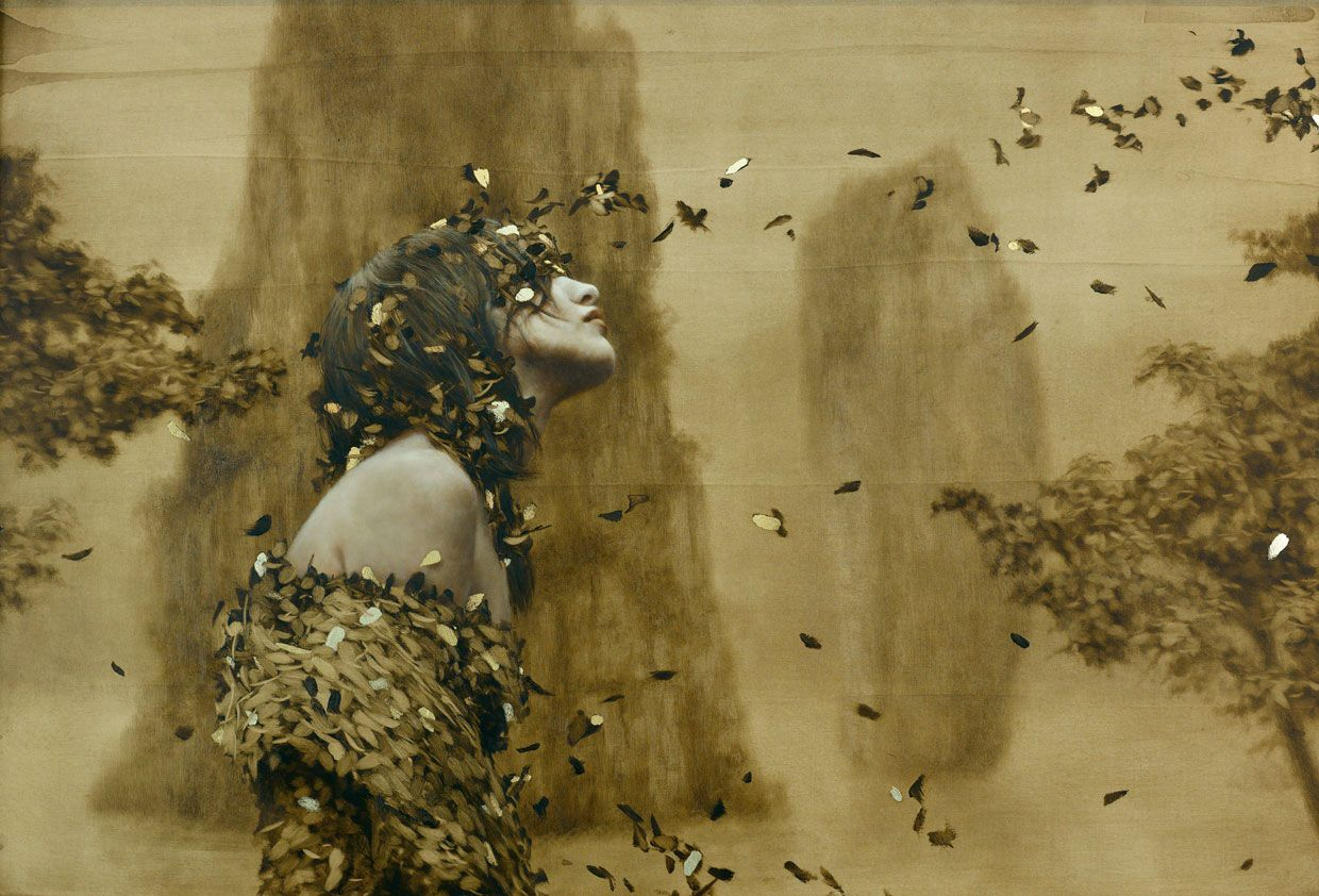 brad kunkle | ... de l artiste brad kunkle of gold and leaves fabulous paintings by