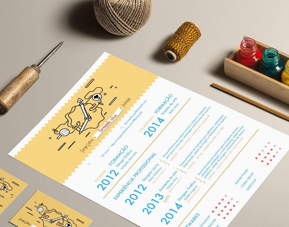Fernanda Silva Design Grafico E Ilustracao Portfolio Ideas