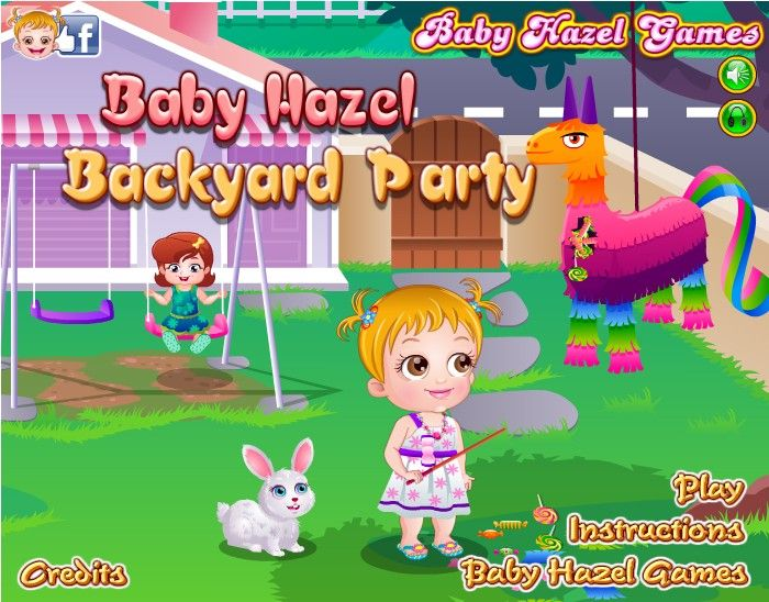 Baby Hazel hosts a afternoon backyard party and invites ...