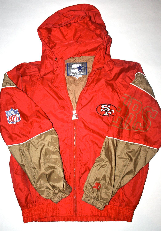 Starter San Francisco 49ers Zipup Jacket 1990's