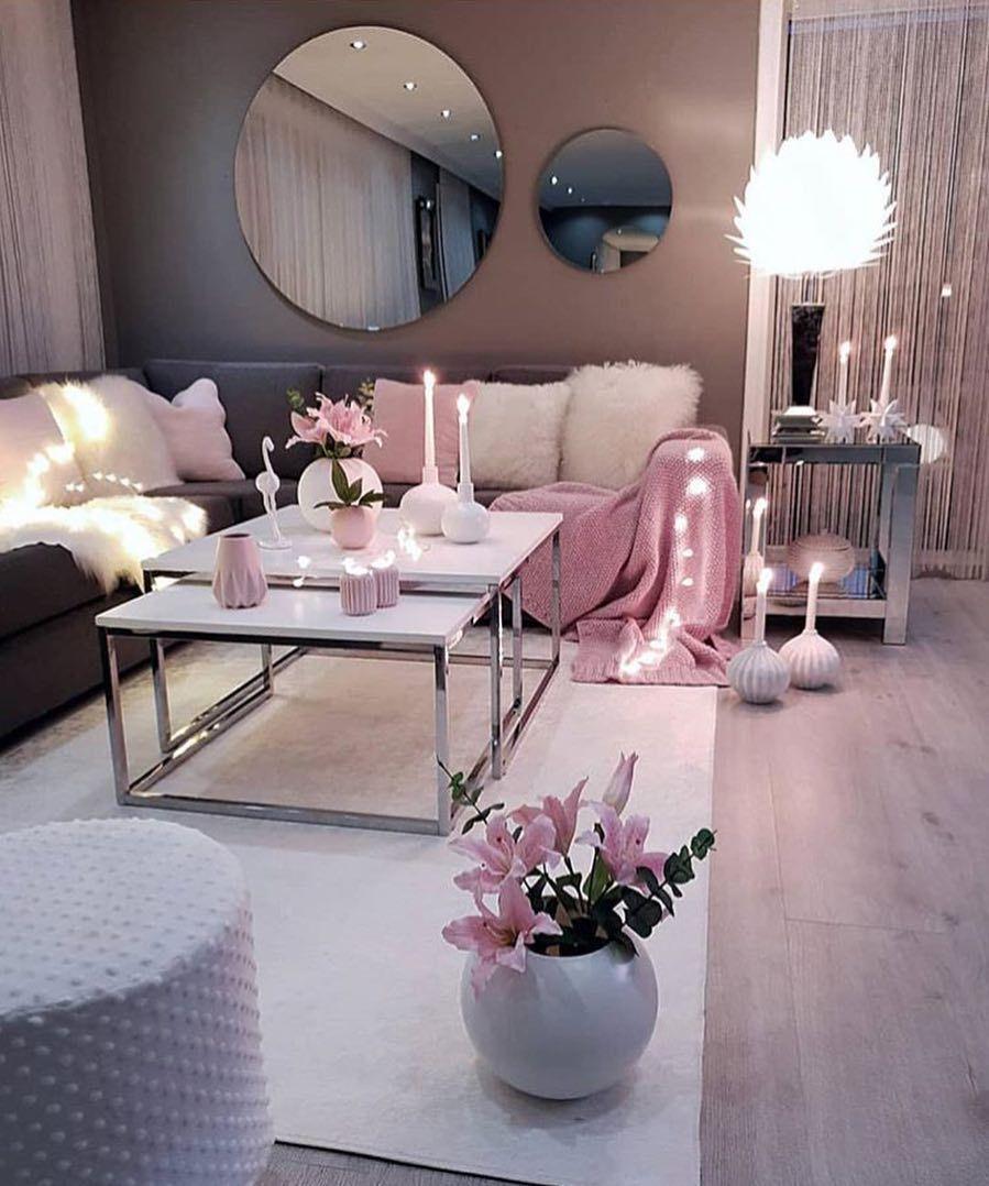Dream Interior For Ladies Tophomes Apartment Living Room Design Living Room Decor Cozy Living Room Setup