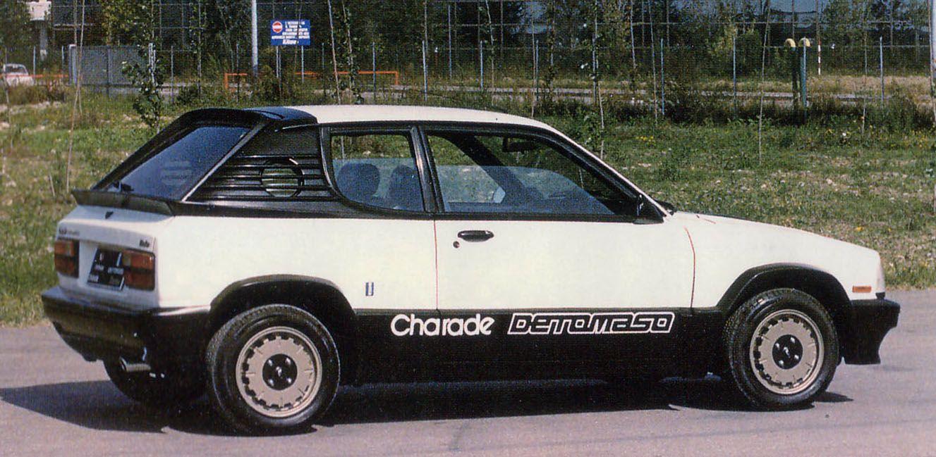 Charade DETOMASO プロト 初代