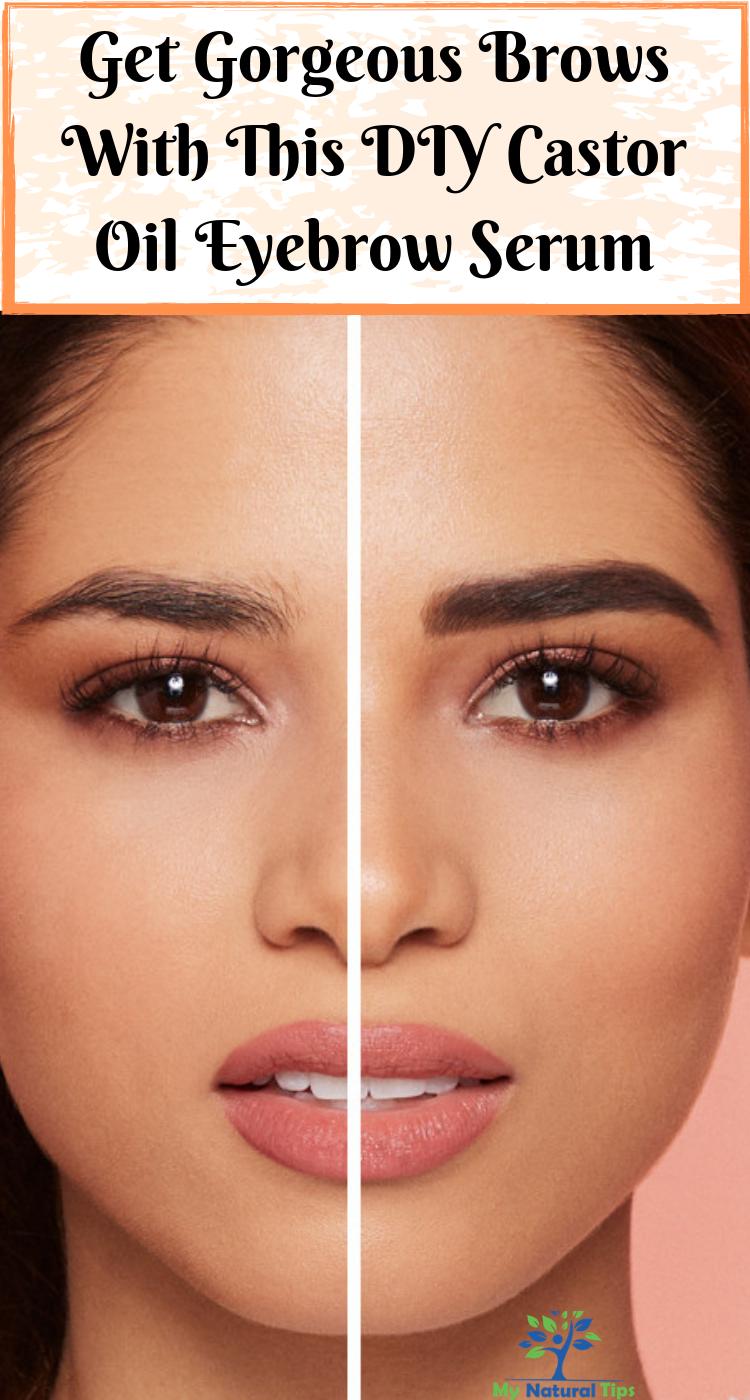 Make Your Eyelashes And Eyebrows Thicker - Natural DIY ...