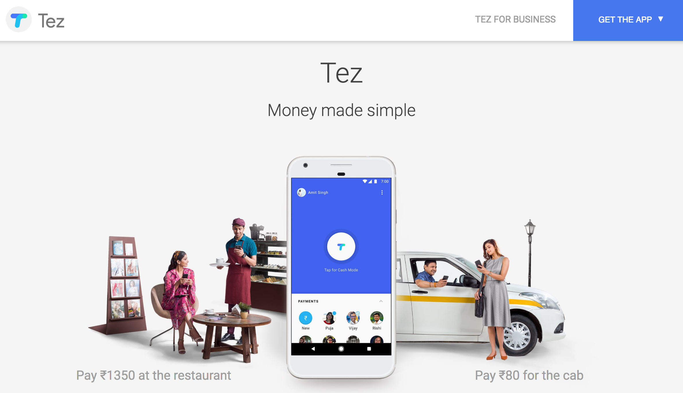 Google debuts Tez, a mobile payments app for India that