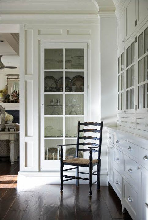 Jann Blazona Interior Design {on either side as you enter dining ...