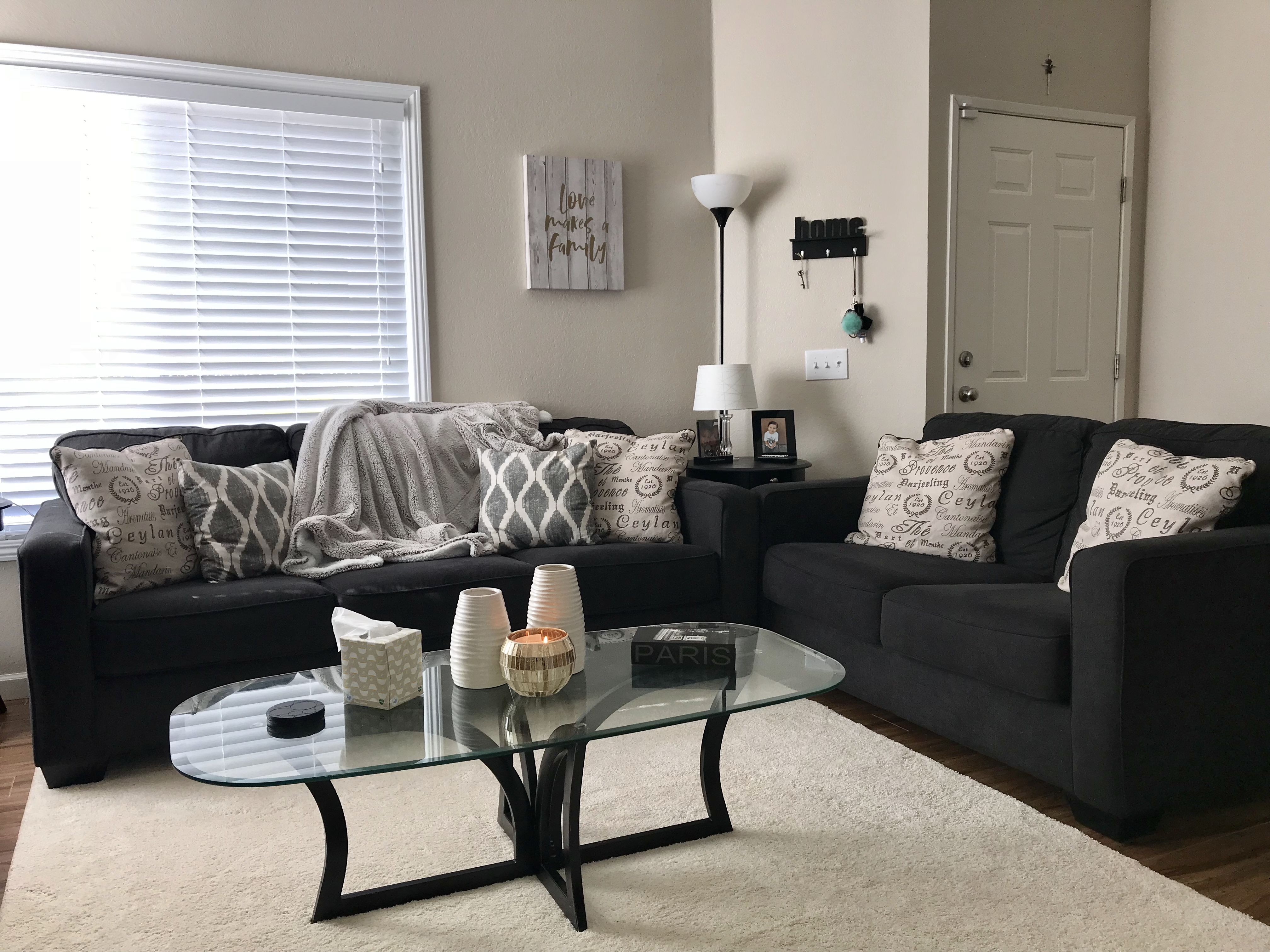 a pinterest inspired living room to call my own  home