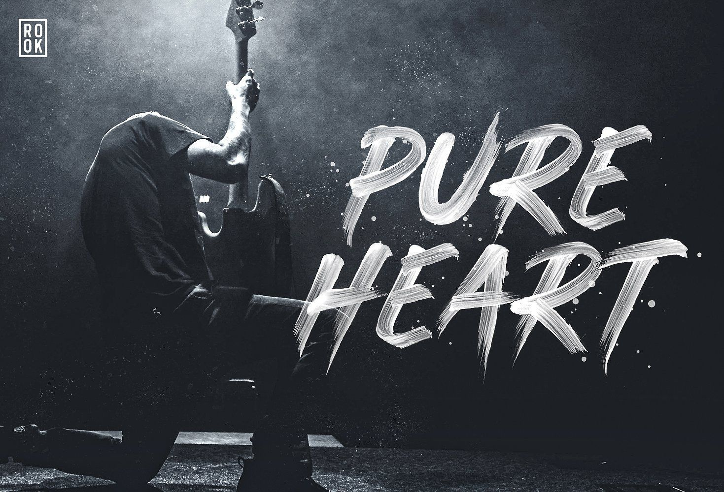 Pure Heart Opentype Svg Brush Font Brush Font Pure Products