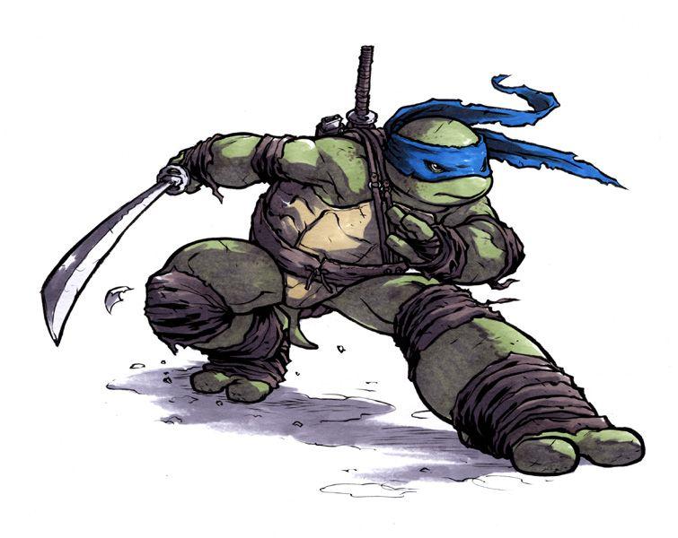 As Tartarugas Ninjas No Deviantart Gifs: Leo. By Mooncalfe.deviantart.com