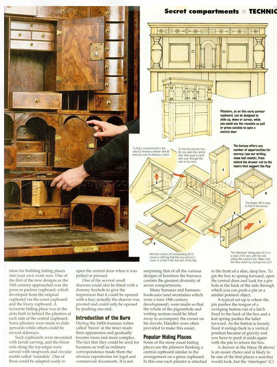 Secret Compartment Furniture Furniture Plans Secret Compartment Furniture Cool Woodworking Projects Secret Compartment