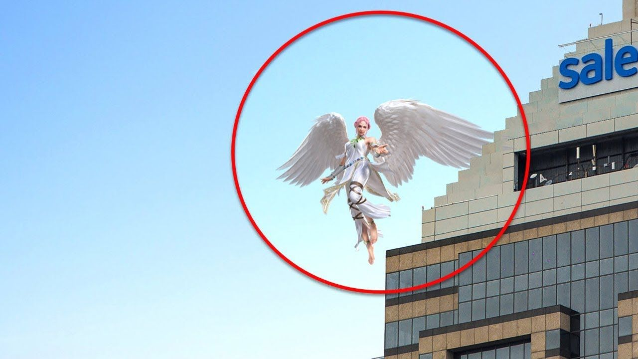 5 Times Angels Caught On Camera  Spotted In Real Life -9265