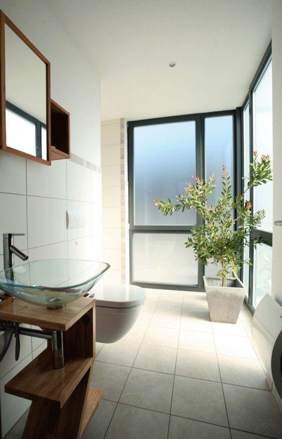 Fertighaus Wohnidee Badezimmer BRAVUR 550 | Modern Bathroom Ideas ...