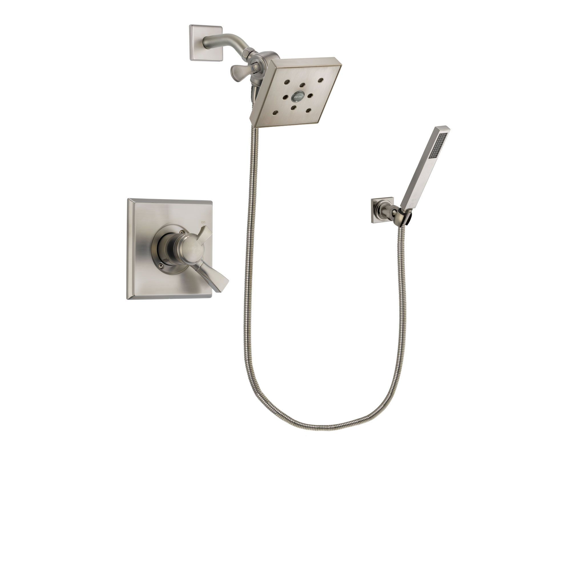Delta Dryden Stainless Steel Finish Shower Faucet System W Hand
