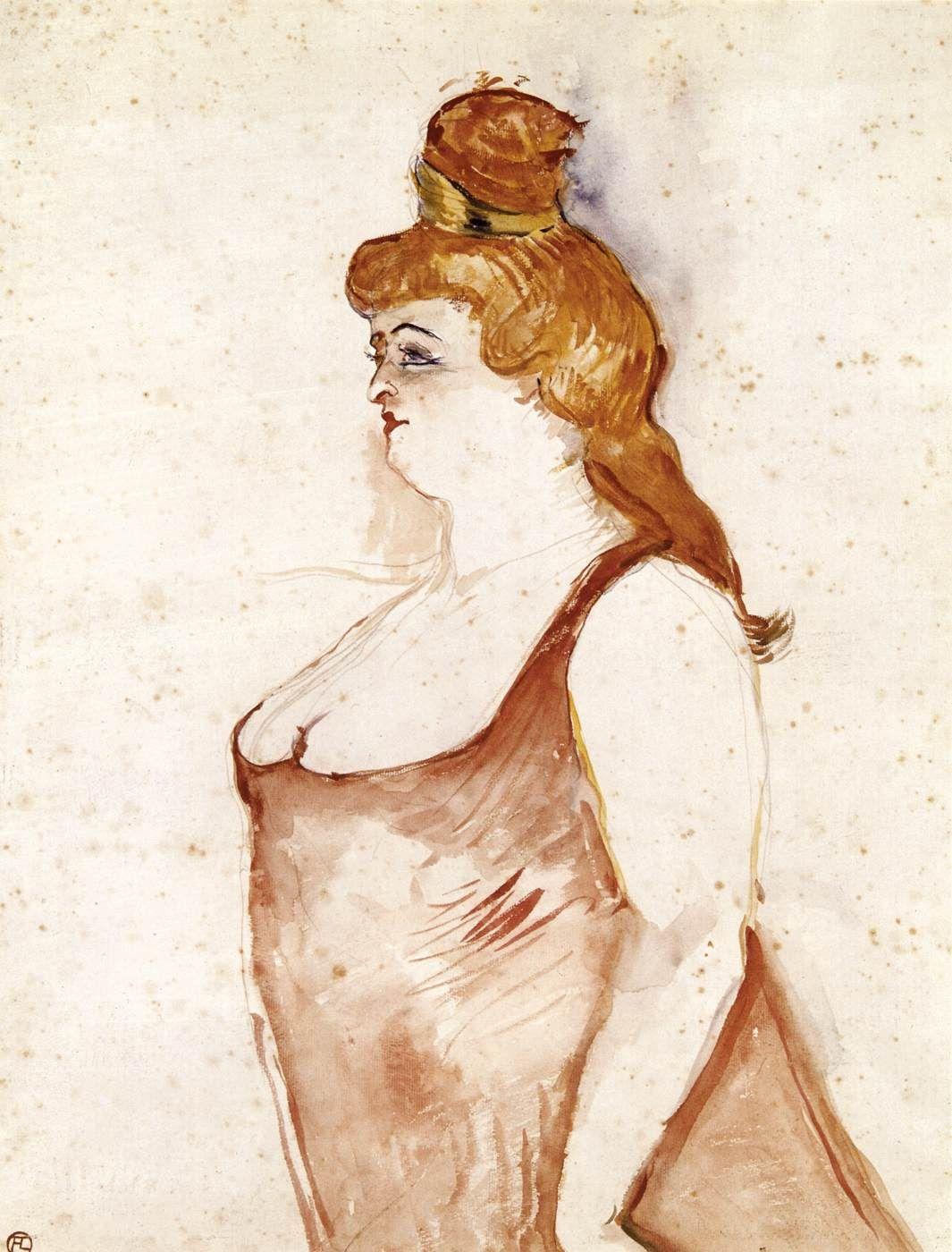 Mademoiselle Cocyte In La Belle Helene Toulouse Lautrec 1900