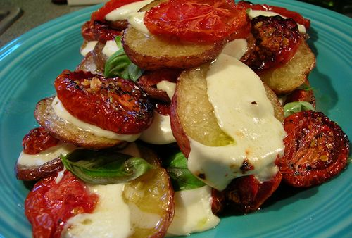 Margherita Roast Potatoes by Donalyn Ketchum, via Flickr