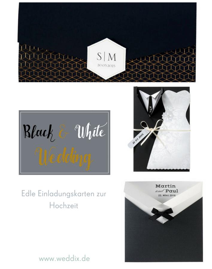 Black U0026 White Wedding   Hochzeitseinladungen U0026 Mehr #blackandwhitewedding # Hochzeit #schwarz #weiß