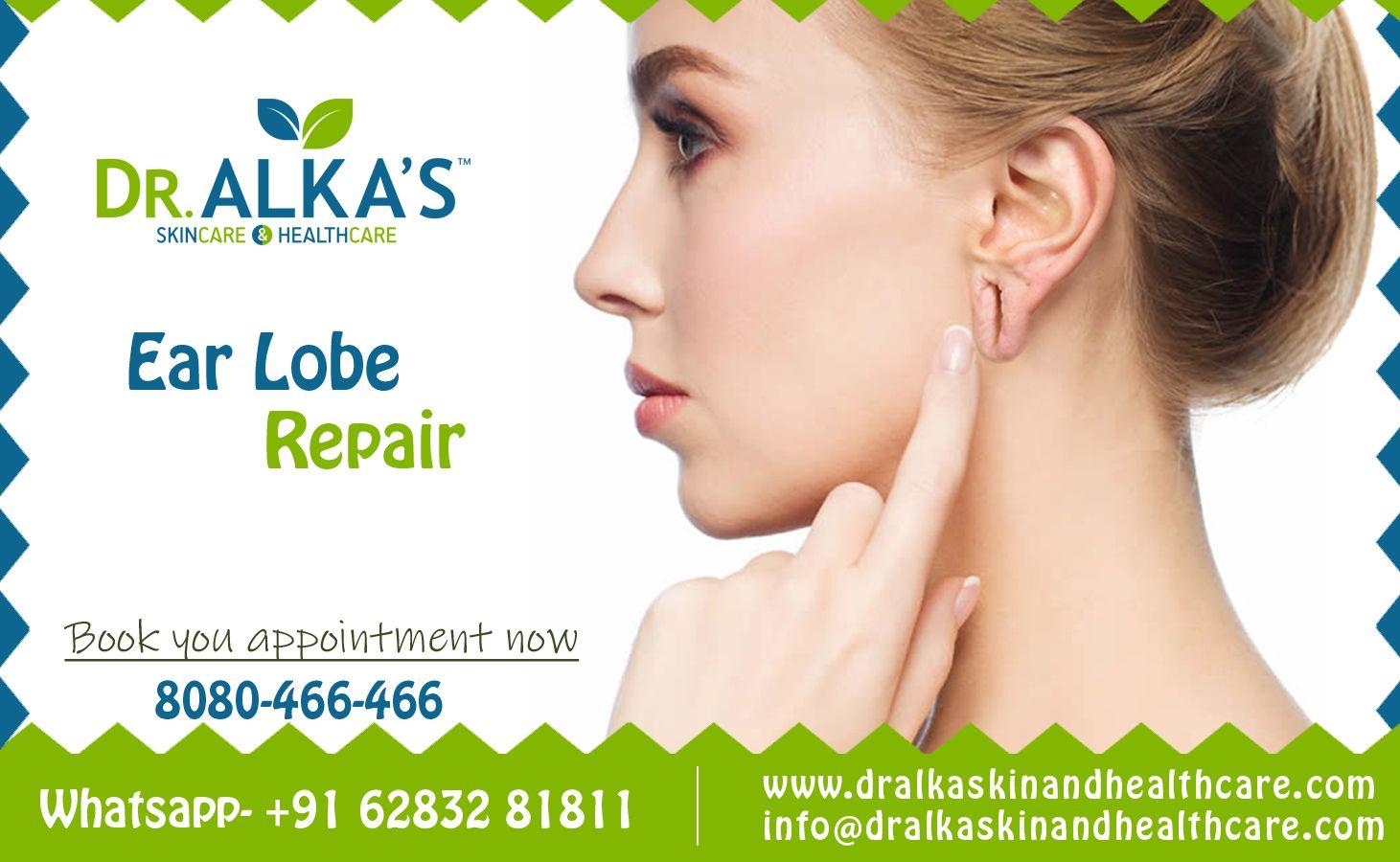 Ear Lobe Repair In 2020 Skin Care Repair Health Care