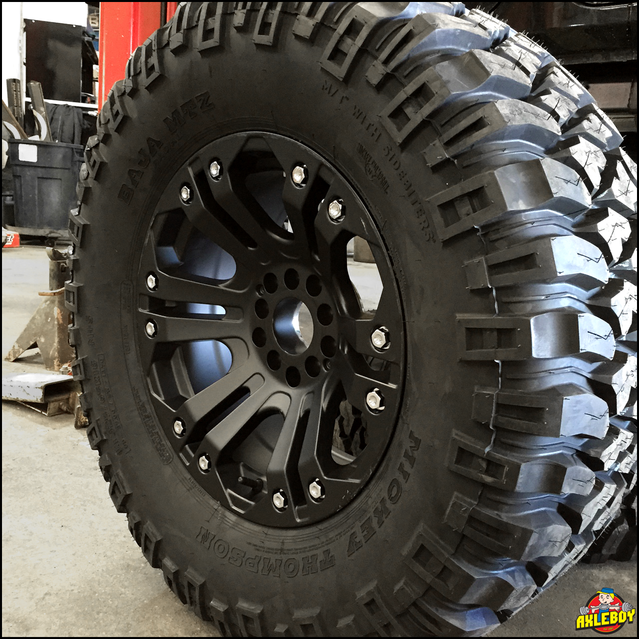 35 mickeythompson tires on xdseries wheels offroad toughtires