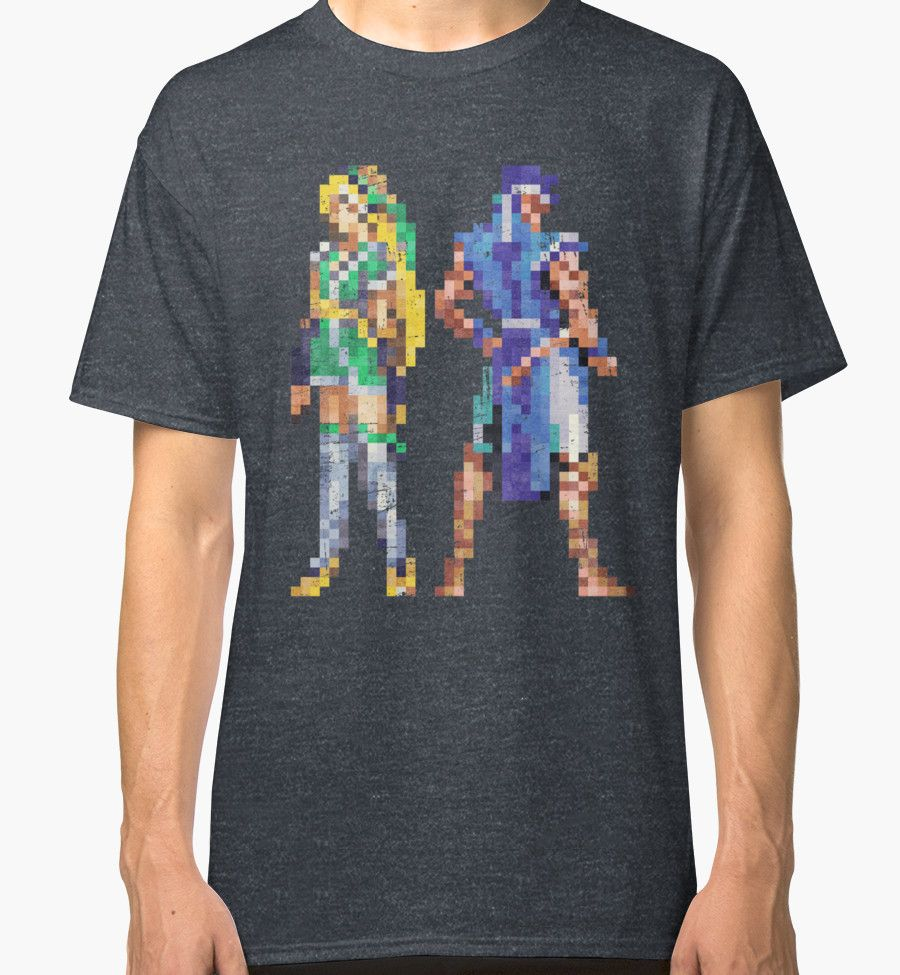 """""""Extra Characters SOTN Vintage Pixels"""" Classic T-Shirts by Lidra   Redbubble"""