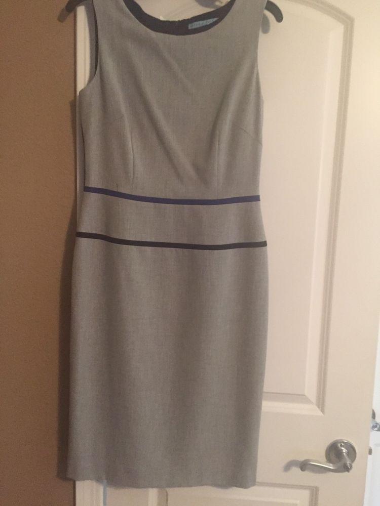 Dress Size 8 Blue Sleeveless Designer Antonio Melani Never Worn Knee
