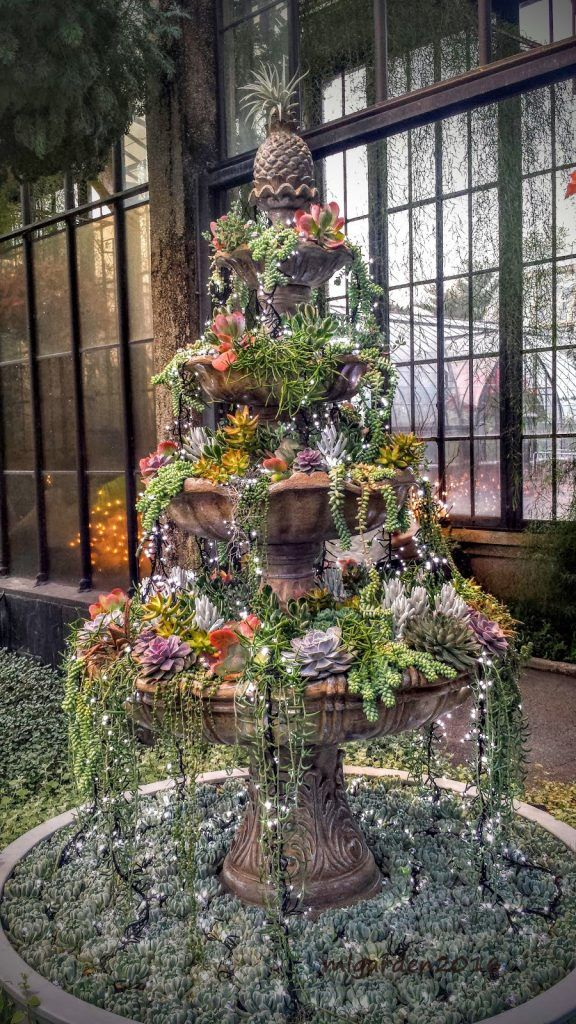 Fountains Turned Into Planters | How To Turn Broken Fountains And Bird  Baths Into Amazing Planters .