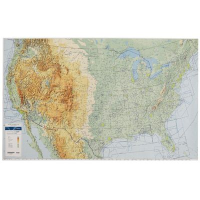 Laminated Wall Maps