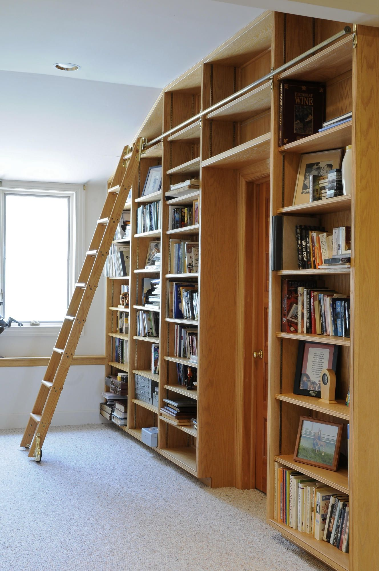 library!  Home library design, Home libraries, Library bookshelves