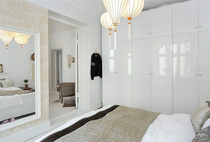 love the eclectic mix and white-on-white. alvhem via desire to inspire.