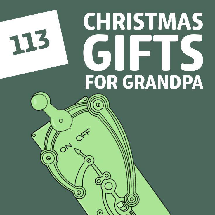 Grandpa christmas gift ideas