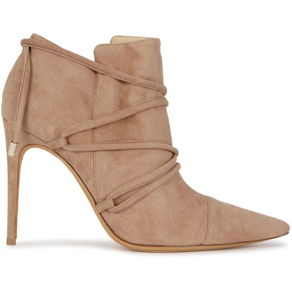 lowest price for sale Alexandre Birman Satin Pointed-Toe Ankle Boots shop for sale online cheap discounts marketable cheap online many kinds of lENnvQnvbw