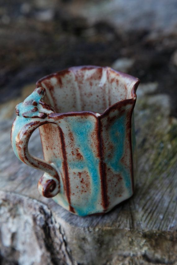 I love this mug! Perfect filled with something hot an a fall day on the porch!