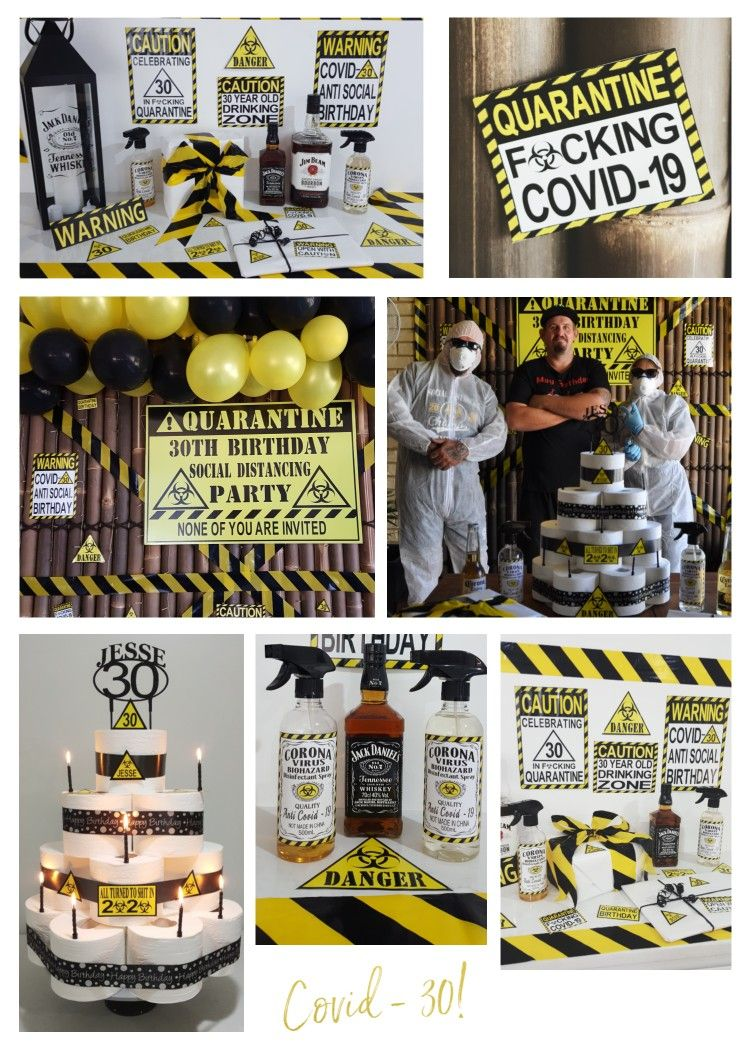 Pin on Jesse's 30th Birthday Jack Daniels & Quarantine