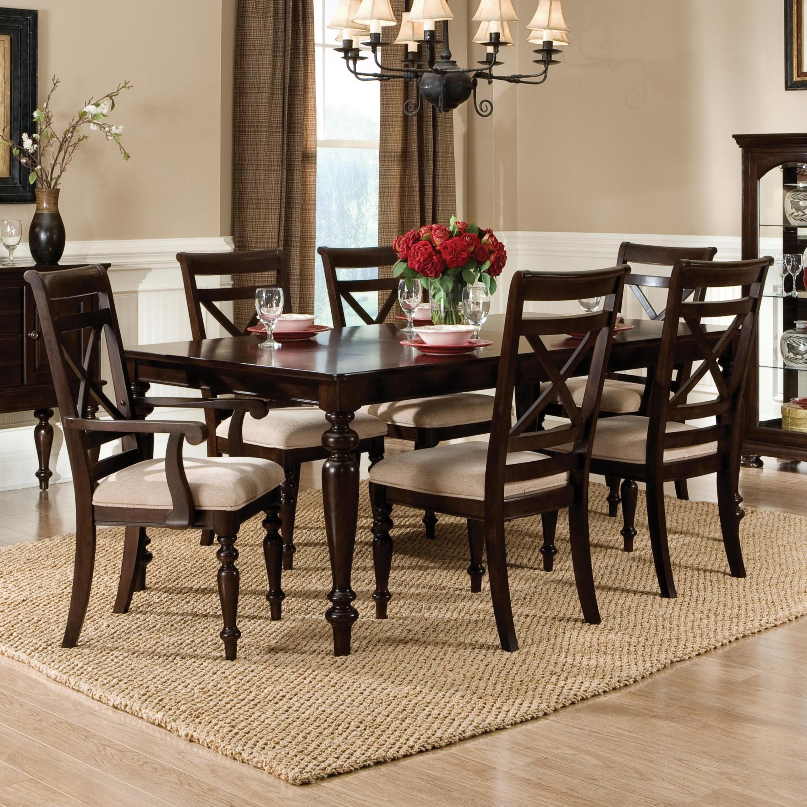 Java 7 Piece Table and Chair Set by Standard Furniture